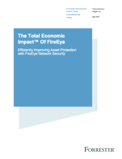 Forrester Study: The Value of FireEye Network Security